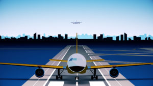 motion graphics animation production airport