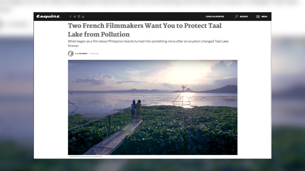 esquire video production nature videographer france cameraman environnement michael perfect